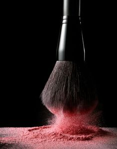 Still life photography ideas | Cosmetics styling | Makeup product photo | 'Blush Brush'