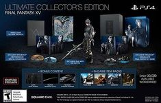 Final Fantasy 15 XV Ultimate Collector's Edition PS4 + Postcards (Playstation 4): $379.99 End Date: Saturday May-5-2018 17:27:06 PDT Buy It…