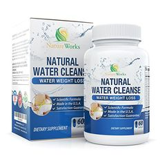 Potent Water Pills Diuretic Helps Relieve Bloating Swelling Water Retention for Natural Water Weight Loss Dandelion Potassium Herbal Relief Supplement 100 Money Back Guarantee * More info could be found at the image url. (This is an affiliate link)