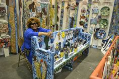 Well known folk artist Missionary Mary L. Proctor resides in Tallahassee, Florida and runs her American Folk Art Museum & Gallery.  http://www.missionarymary.com