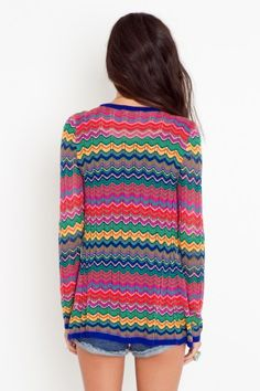 Thanks again Michi Girl... Zig Zag Cardi