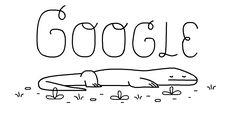 Testa o teu conhecimento sobre o Dragão-de-Komodo 🐉 com este #GoogleDoodle