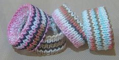 If you are a beginner, knitting a bracelet would be good for you to start. If you are experienced knitter, you can knit a bracelet in very short time.