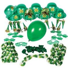 Whether their St. Patrick's shenanigans start with brunch or only really get going after sundown, they'll want to make sure that everyone is in a festive spirit. St Patricks Day, Christmas Bulbs, Holiday Decor, Party, Gifts, Presents, Christmas Light Bulbs, Parties, Favors