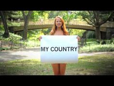 My Country, My Choice -- powerful message from a bevy of beautiful women.
