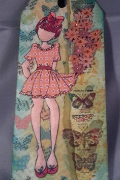 Tag/Card Betty - Julie Nutting by CreativeEmbers on Etsy $12.50