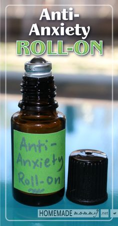 Anti-Anxiety Roll-on Blend Using Essential Oils | www.homemademommy.net