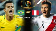 Copa America Centenario Match Recap | Brazil  0, Peru 1 | (June12th, 2016 @ Gillette Stadium in Foxborough, MA) | Raul Ruidiaz turned in a cross from Andy Polo in the 75th minute, appearing to punch the ball with his hand to get it over the line. After extensive discussion with his linesman and the fourth official, Uruguayan referee Andres Cunha awarded the goal.  Peru's controversial winning goal  knocked Brazil out of Copa America Centenario in the group stage. Brazil Vs Peru, Copa America Football, Copa America Centenario, Football Tournament, Metlife Stadium, Gillette Stadium, I 8, Referee, Once In A Lifetime