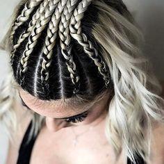 •  •  •  •  •  •  @jbraidsandbows #jbraidsandbows #braid #braids #braided #braidedhair #dutch #dutchbraids #dutchbraid #updo #braidedupdo #dutchbraidedupdo #edgy #edgybraids #behindthechair #modernsalon #americansalon #hotonbeauty #hotforbeauty #maneaddicts #beyondtheponytail