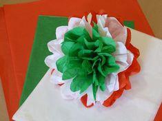 Nemzeti színű selyempapír pompon - Art-Export webáruház Independence Day Theme, August Themes, Smash Book Inspiration, Diy And Crafts, Arts And Crafts, Board Decoration, Republic Day, Paper Flowers, Origami