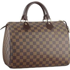 Louis Vuitton Speedy 30 Damier Ebene Canvas This purse will be MINE! Louis Vuitton Speedy 30, Louis Vuitton Damier, Louis Vuitton Handbags, Handbag Accessories, Fashion Accessories, Fashion Jewelry, 80s Womens Fashion, Street Style Store, College Girl Fashion