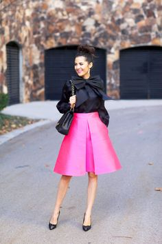 05f7320698d Love that skirt and those adorable heels! Leave it to Kate Spade.