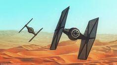The Force Awakens - TIES!