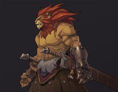 ArtStation - Battle Chasers Night war Favart, Hicham Habchi