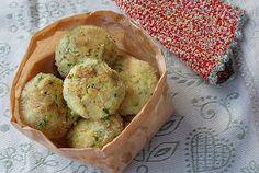 Arancini al forno con zucchine e scamorza