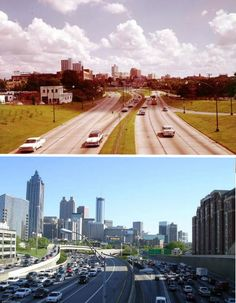 Then and Now. Atlanta, Georgia – 1964 and 2004