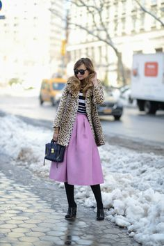 I can't resist. I have to pin this look. NYFW Style - Day 1