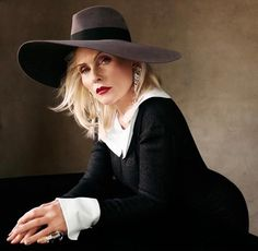 Debbie Harry is featured in the May 2013 issue of Vogue Spain photographed by Victor Demarchelier. Still a fox!