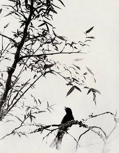 Lang+Ching-shan+songbirds+bamboo+shade