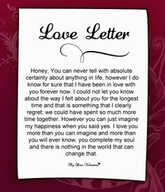 letter to write to your girlfriend