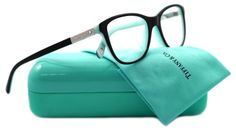 Tiffany & Co Eyeglasses Top Black/Blue, 49 mm Azul Tiffany, Tiffany And Co, Tiffany Blue, Cool Glasses, New Glasses, Glasses Frames, Four Eyes, Mint, Reading Glasses