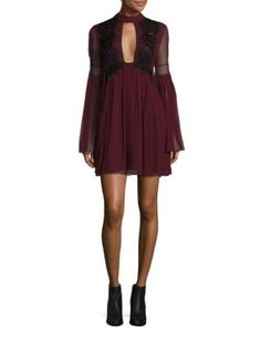 FREE PEOPLE Madly Deeply Sequined Mini Dress. #freepeople #cloth #dress