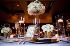 Wedding table idea, but without the little centerpieces