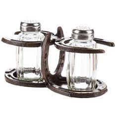 Horseshoe Salt & Pepper Holder & Shakers  #LGlimitlessdesign #contest