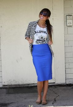 xoxo cleverly, yours stripes, leopard, graphic tee