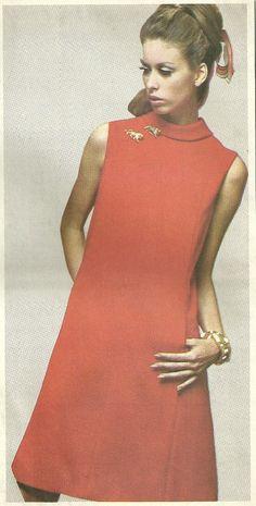 e6f475dac4b Vintage 60s Sewing Pattern