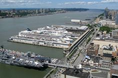 Port of New York (Manhattan Cruise Terminal) Webcam / Camera