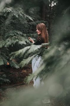 selective focus photography of woman standing between trees Photo by jenn_lopez on Unsplash Image Page 64208 Forest Photography, Portrait Photography Poses, Creative Photography, Outdoor Photography, Forest Tattoo Sleeve, Forest Tattoos, Forest Drawing, Forest Painting, Johanna Basford Enchanted Forest