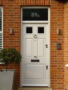London Doors, Front Door, Victorian / Edwardian Door | Shut the ...