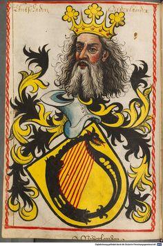 Scheibler'sches Wappenbuch Süddeutschland, um 1450 - 17. Jh. Cod.icon. 312 c  Folio 120