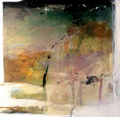 """Abstract Artists International: Contemporary Mixed Media Abstract Painting """"Wind"""" by Intuitive Artist Joan Fullerton"""