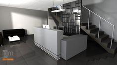 Lada recepcyjna CUBIC , opis i więcej zdjęć na http://www.projektmebel.pl/cubic
