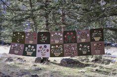 Tom Miner Quilts and Folk Art, Emily Munroe progress