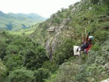 Deep within the pristine mountain wilderness of the Malolotja Nature Reserve lies the spectacular Malolotja Canopy Tour, Eswatini - Dirty Boots Recreational Activities, Out Of Africa, Adventure Activities, Tree Tops, Rock Formations, Nature Reserve, Cliff, Continents, Outdoor Activities