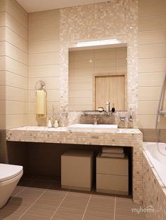 Типичная для квартиры ванная
