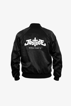 Justice 2012 World Tour Jacket by Surface to Air - Back. #justice #surfacetoair #specialproject