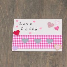 Making a lottery-inspired scratch-off Valentine is an easy way to put a fun spin on a handmade Valentine for your significant other.