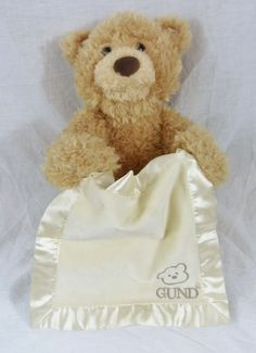 Peek A Boo Bear Gund Animated Plush Toy Stuffed Animal Talking Teddy Interactive #AllOccasion