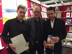 Christoph Drange mit Christof Kerber und Sebastian Winkler - Frankfurter Buchmesse 2015
