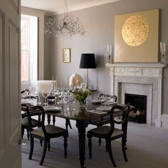 Dining room | Georgian restoration | Homes & Gardens house tour | PHOTO GALLERY | Housetohome.co.uk