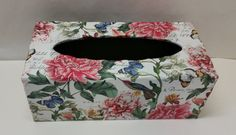 Handmade Decoupage Scalloped Edge Rectangle by DesignsbyVincenza