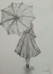 - Pencil Drawings Tumblr, Easy Drawings Sketches, Hipster Drawings, Girl Drawing Sketches, Dark Art Drawings, Pretty Drawings, Beautiful Sketches, Illustration, Sketching