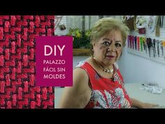 DIY:: PALAZZO FÁCIL SIN MOLDES - YouTube Palazzo, Hippie Chic, Boho Chic, Sewing Patterns, Diy, Youtube, Sew Simple, Men's Shirts, Home