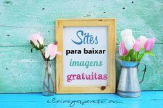 Seleção com sites para você baixar imagens gratuitas e livres para usar no blog.