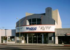 There have been many improvements on Sherman Way in the last few years. The Madrid Theater is one of them. Canoga Park, Southern California, Theater, Madrid, Theatres, Teatro, Drama Theater