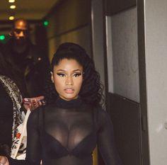 Scantily clad Nicki Minaj straddles rumoured beau Meek Mill